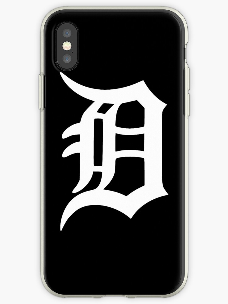 detroit old english d iphone cases covers by corywatch redbubble