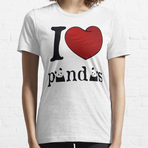 I heart Pandas Essential T-Shirt