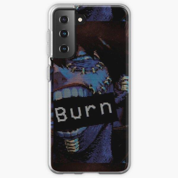 BNHA Dabi VHS Aesthetic 'Burn'  Samsung Galaxy Soft Case