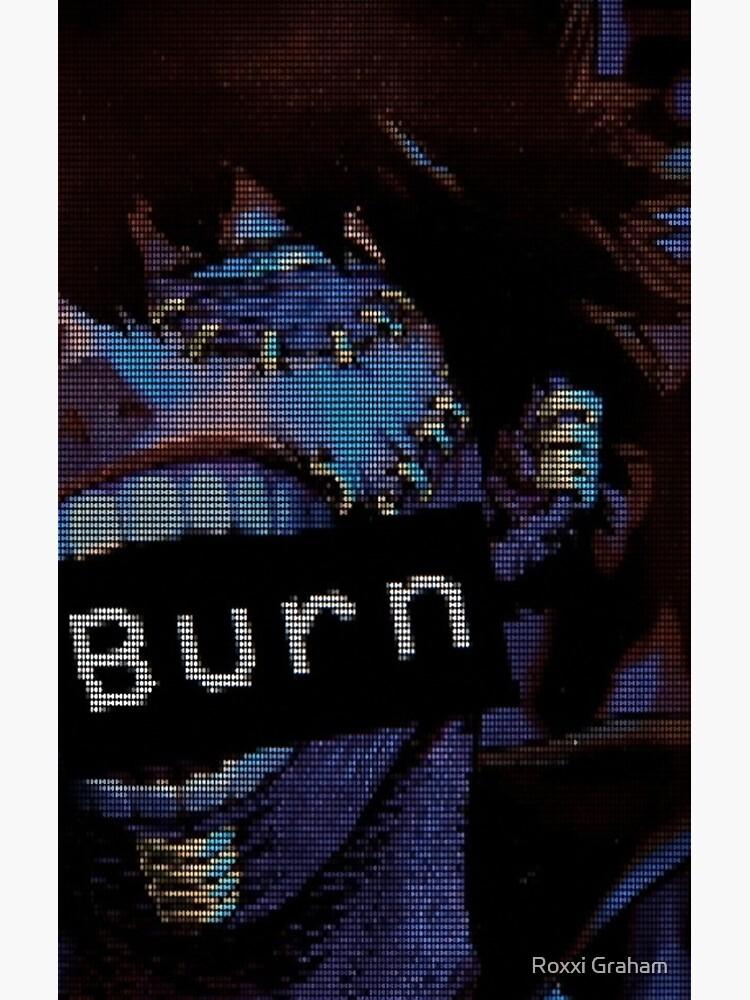 BNHA Dabi VHS Aesthetic 'Burn'  by cherriezart