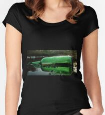 Reflected Women's Fitted Scoop T-Shirt