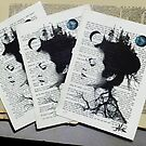 limited edition print - the whole of the moon by Loui  Jover