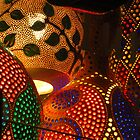 Brightly Coloured Turkish Lamps by wiggyofipswich