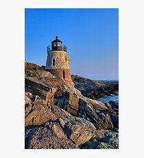 Castle Hill Lighthouse -Rhode Island Photographic Print