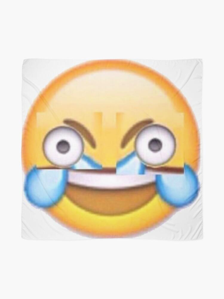 Foulard Rire Emoji Pleurer Par Smexmuffins Redbubble