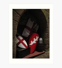 Medieval collections Art Print