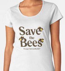 Save the Bees Women's Premium T-Shirt
