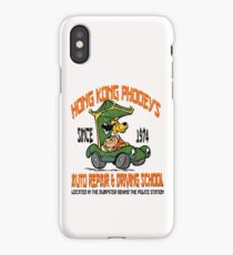 Hong Kong Phooey's Auto Repair & Driving School iPhone Case/Skin