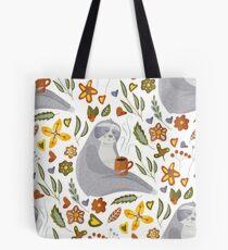 Sloth Pattern #1 Tote Bag