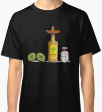 'Tequila Lemon and Salt' National Tequila Day Gift  Classic T-Shirt