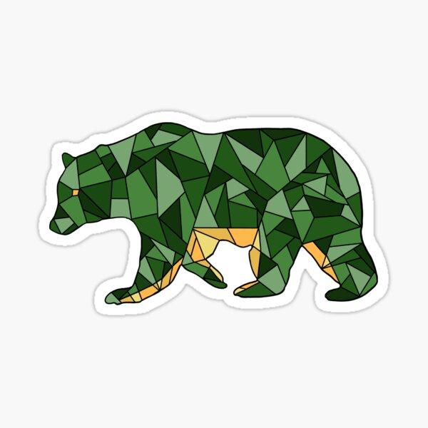 Collegiate Bear Sticker