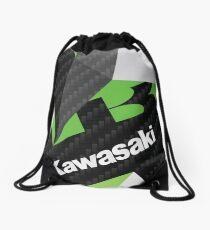 Kawasaki Fractals Drawstring Bag