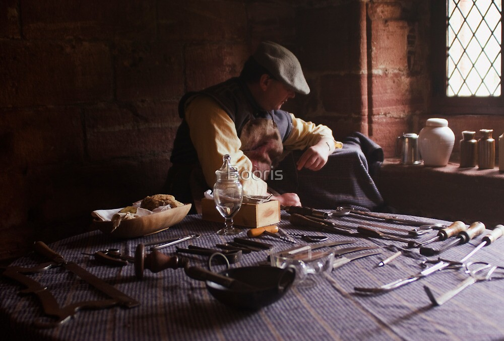 The Barber Surgeon  by Booris