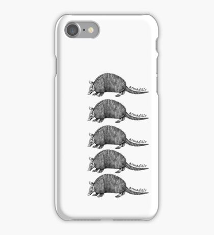 Army-dillos iPhone Case/Skin