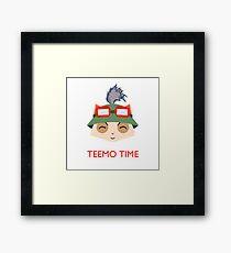 Teemo Time! Framed Print