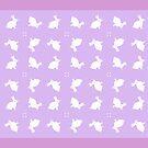 white rabbits by goanna