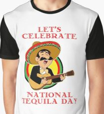 'National Tequila Day 24th July' National Tequila Day  Graphic T-Shirt