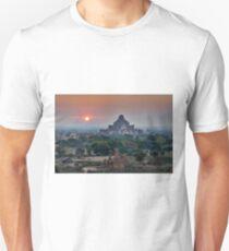 sunrise over Bagan Unisex T-Shirt