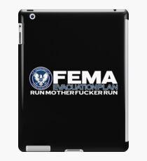 FEMA EVACUATION PLAN iPad Case/Skin