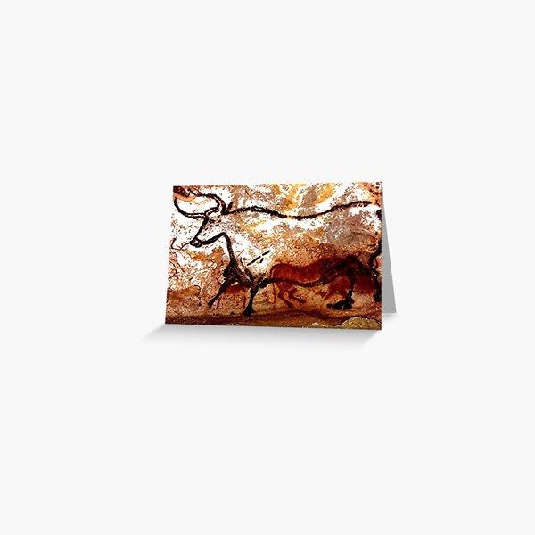 #Lascaux #Cave #Paintings #Bull LascauxCave PaintingsBull LascauxCavePaintingsBull CavePaintings CaveDrawings drawings Greeting Card