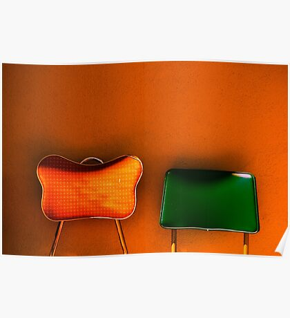 tijuana (two chairs) Poster
