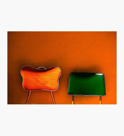 tijuana (two chairs) Photographic Print