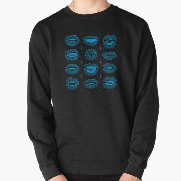 Talking Lips Pullover Sweatshirt