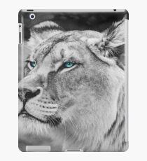 White Lioness iPad Case/Skin