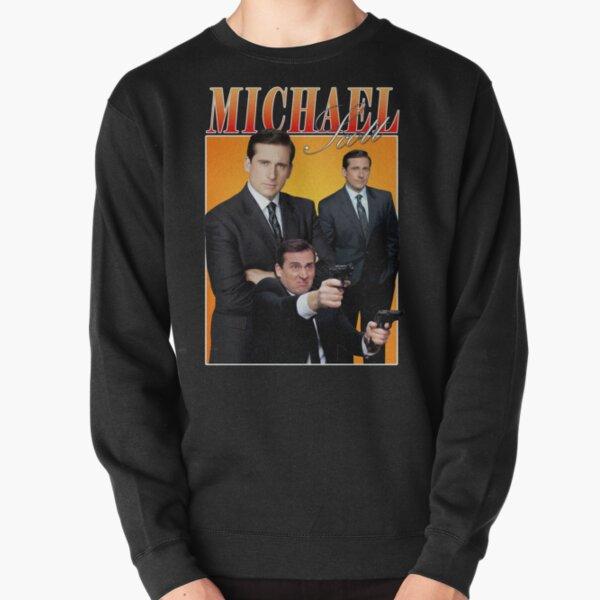 Michael Scott Homage Tee Pullover Sweatshirt