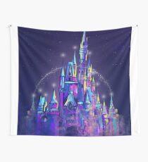 Princess Magical Castle Orlando Wall Tapestry