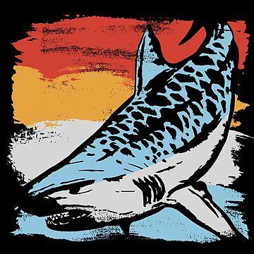 Tiger shark fish by GeschenkIdee