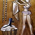 Laundry Day 2- part of the Smokey and Stinky series by Laurie Lou McKern