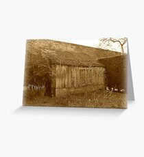 The old garden Shed Greeting Card