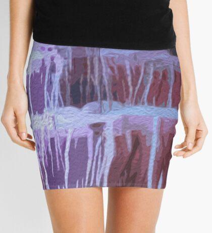 Jellyfish in Oils/ Vivid 2015 Mini Skirt