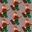 City 'Bert the Street Cleaner' Minifigure by Customize My Minifig