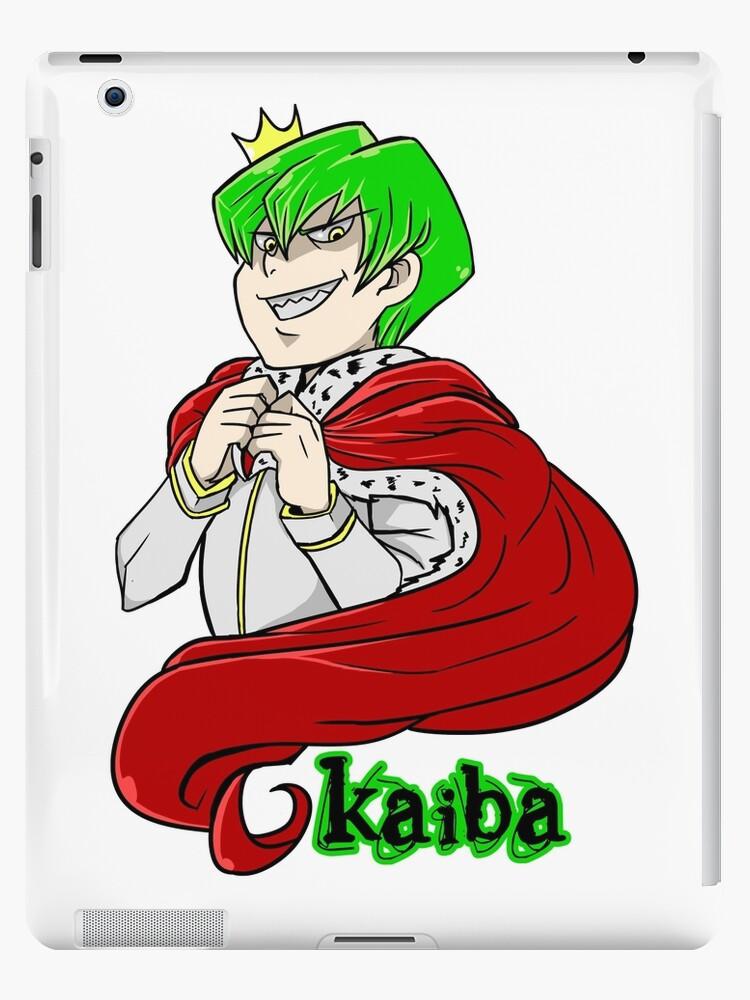 Kaiba Green Hair Yu Gi Oh Ipad Cases Skins By Masaya90 Redbubble