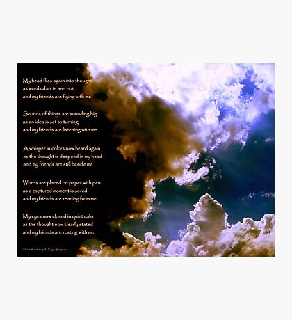Birth of a Song - the image Photographic Print