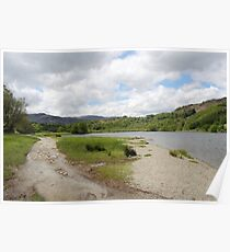 View over Rydal Water - Lake District UK Poster