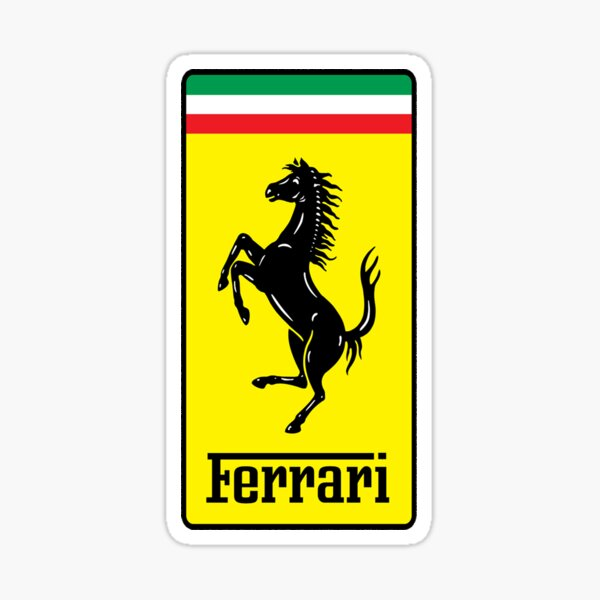 Ferrari LOGO !  Sticker