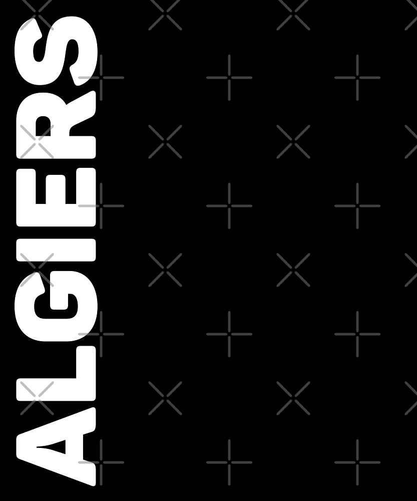 Algiers T-Shirt by designkitsch