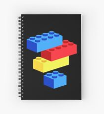 Bricks Spiral Notebook