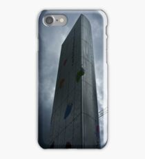 Cardiff Bay Fountain (Torchwood) iPhone Case/Skin