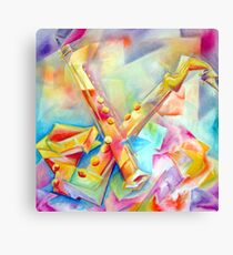 BE BOP Canvas Print