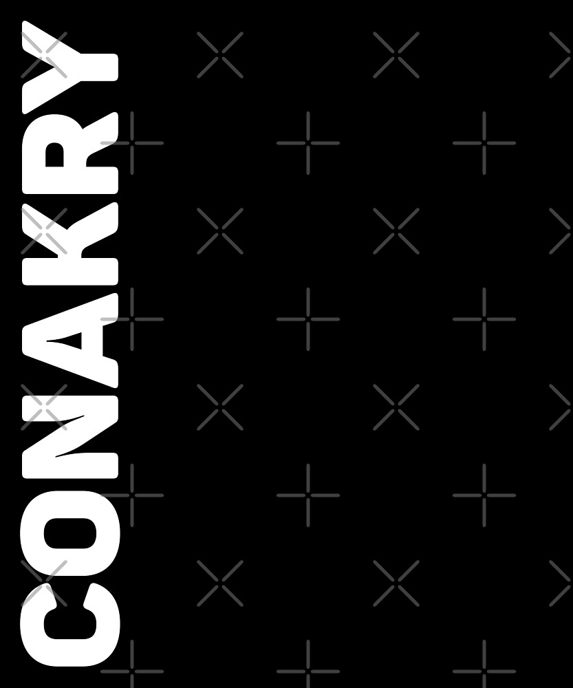 Conakry T-Shirt by designkitsch