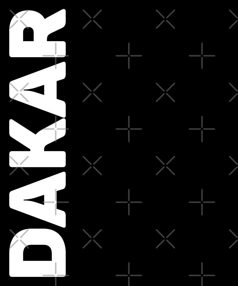 Dakar T-Shirt by designkitsch