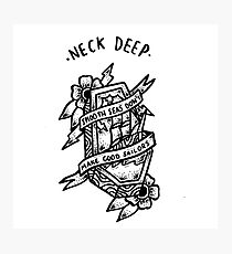 Neck Deep Photographic Print