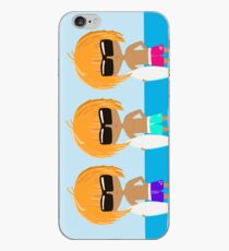 Surfing Triplets - Cool Dudes iPhone Case