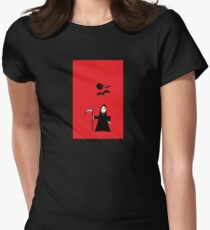 Spooky Grim Reaper  Women's Fitted T-Shirt