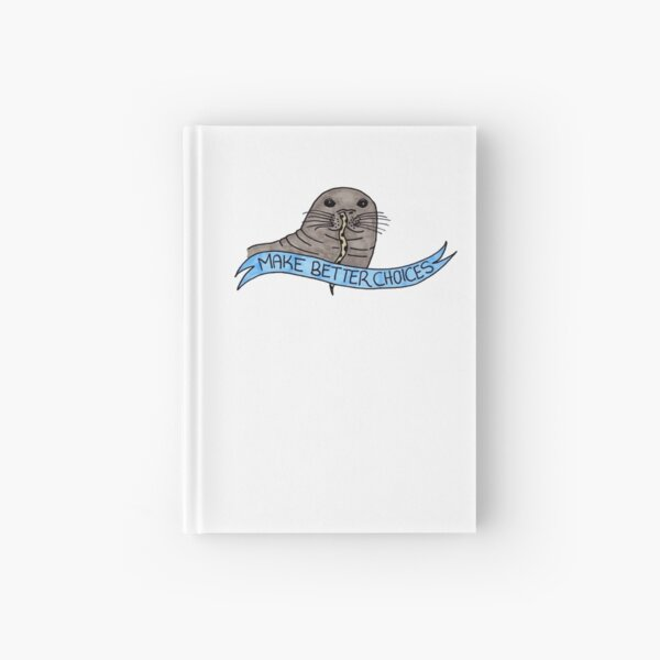 The Cautionary Seal: Colour Hardcover Journal