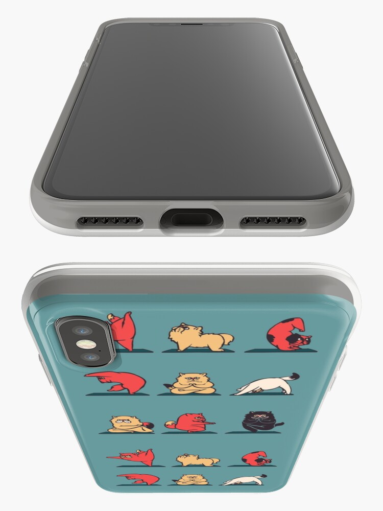 Alternate view of Cat Yoga iPhone Case & Cover